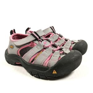 Keen Newport H2 Size 10 Grey & Pink